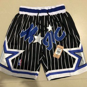 NWT🌂Just Don NBA Orlando Magic NBA 🌂Shorts🌂